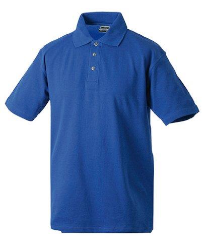 Polo Piqué Medium, Größen S-5XL, viele Farben Royal Blue,L