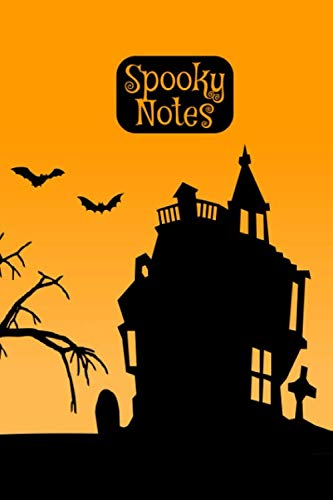 Spooky Notes: Notebook I Bullet Diary I Journal I Diary I 124 blank pages  with table of contents I Halloween Sunrise (German Edition)]()