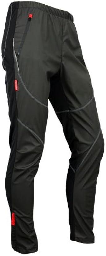 Santic Bike Cycling Wind Pants Winter Riding Long Pants Tights Trousers Black
