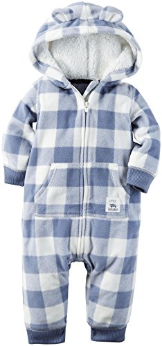 Carter's Baby Boys 1 Pc, Blue, NB (Hooded Romper Newborn compare prices)