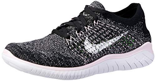 Nike WMNS Free RN Flyknit 2018 Black Pink White 942839-007 Women s Running Shoes