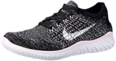 ENGINEERED TO RUN FREELY. Nike Free RN Flyknit 2018 Women's Running Shoe brings you miles of comfort with a Flyknit constructed upper that delivers even more zoned stretch and breathability than before. The outsole pattern adjusts to your eve...