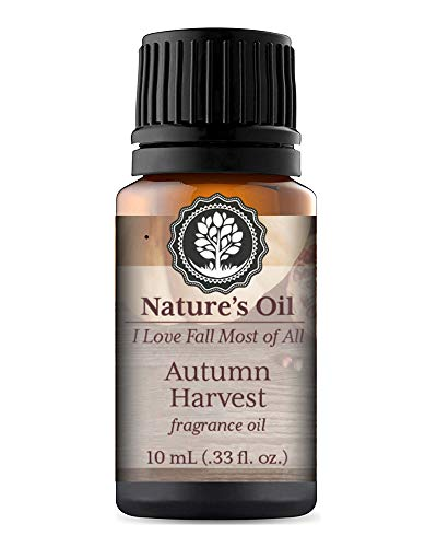 Autumn Harvest Fragrance Oil 10ml for Fall Diffuser Oils, Making Soap, Candles, Lotion, Home Scents, Linen Spray and ()