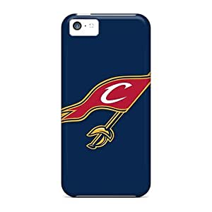For Iphone 5c Tpu Phone Case Cover(nba Cleveland Cavaliers 2) by runtopwell