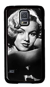 Yolaa Marilyn Monroe-32 Samsung Galaxy S5 Black Sides Hard Shell Case