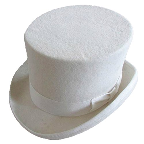White Top Hat (S= 55cm(6 7/8))