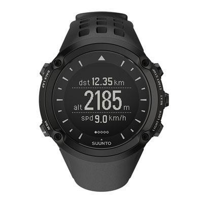 Suunto Ambit GPS Sport Watch w/ Optional Heart Rate Monitoring - - Black Analog Curves