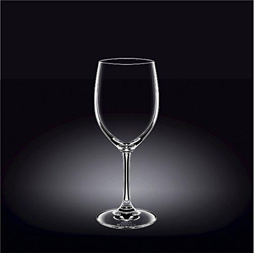 Wilmax 888006 350 ml Wine Glass Set of 644; Pack of 8