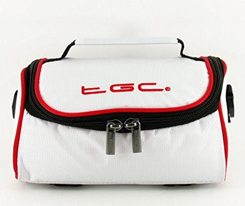 Crimson al Trims Blanco Crimson para White TGC Mujer Cool Cool with Bolso With White Trims Red Hombro Red Cq5T5WczOw
