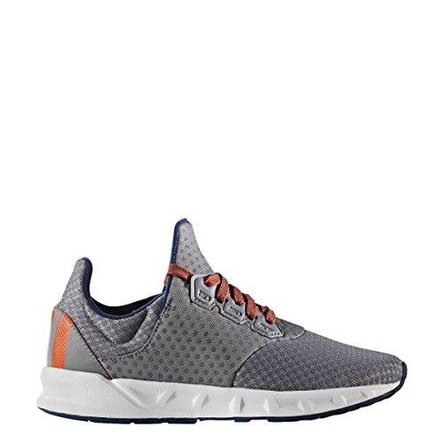 Adidas Falcon Elite 5 Xj, Chaussures de Tennis Mixte Enfant, Marron (Gris/Ftwbla/Azumis), 38 EU