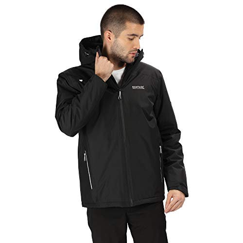 Regatta Men's Thornridge Ii Waterproof Thermo-guard Insulated Hooded Outdoor Jacket Waterproof Insulated Jacket