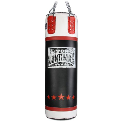 Contender Fight SportsレザーボクシングMMAムエタイFitness WorkoutトレーニングKicking Punching 70、100、150 lb Heavy Bag – Filled B006CV8W4W  100-Pound