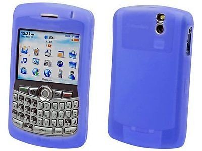 Silicone Skin Case for Blackberry Curve 8300/8310/8320/8330 - Blue