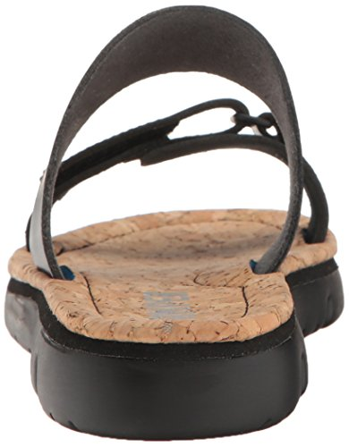 Sandalo Scorrevole Da Donna Oruga K200158 Camper Nero