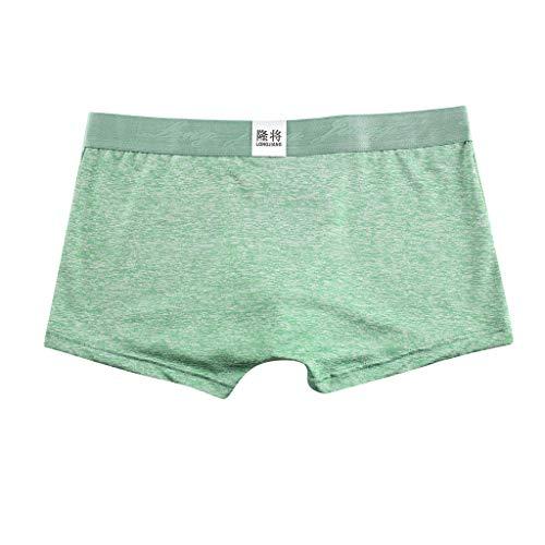 f5e8dc3e052 MURTIAL Men s Soft Briefs Underpants Knickers Shorts Sexy Underwear(Green  ...