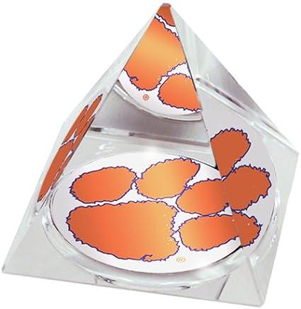 NCAA LSU Tigers LSU Logo in Large 3 1//4-Inch Crystal Pyramid
