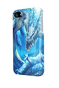 ip50758 monster hunter Glossy Case Cover For Iphone 5/5S