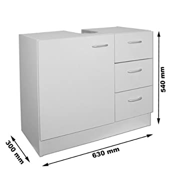Admirable Deuba Under Sink Storage Cabinet Bathroom Storage Vanity Furniture Drawers Home Interior And Landscaping Eliaenasavecom
