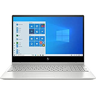 "2020 HP Envy x360 15.6"" FHD Touchscreen 2-in-1 Laptop Computer, 10th Gen Intel Quard-Core i7-10510U, 32GB DDR4, 1TB PCIe SSD, WiFi 6, Webcam, Windows 10, BROAGE 64GB Flash Stylus, Online Class Ready"