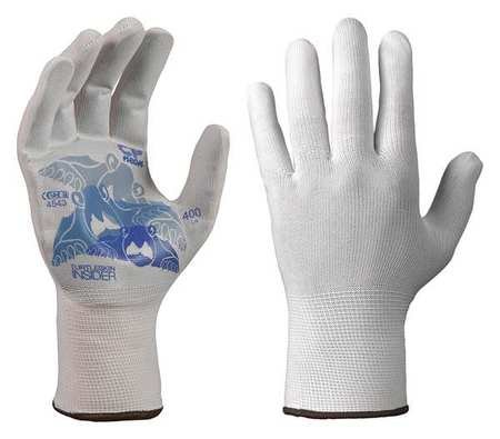 Glove Liners Nylon/Polyester L Wht Pr by TurtleSkin
