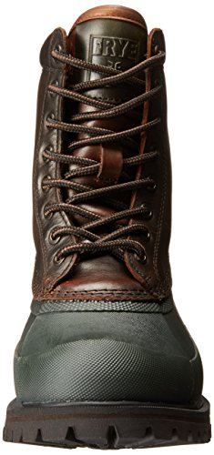Frye Mens Alaska Lace-up Rain Boot Forest / Multi