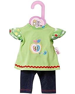 Lalki, moda dla lalek, dodatki Puppen Kleid Leggings für 28 bis 33 cm Puppen Heless 1255 Odzież i dodatki