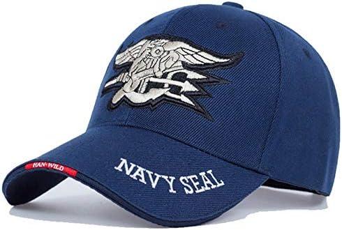 AJSJ Herren Navy Baseball Cap Navy Seals Cap Taktische Trucker Gorras F/ür Erwachsene