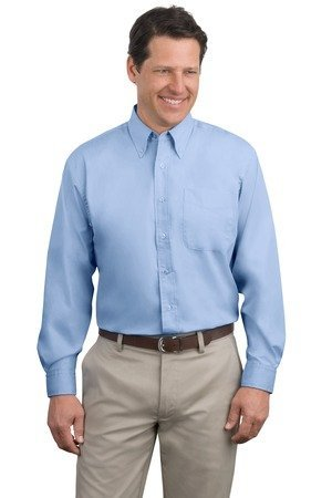 Port Authority Long Sleeve Easy Care Shirt (S608) Available in 27 Colors 3X (Button Cuff Oxford Shirt)