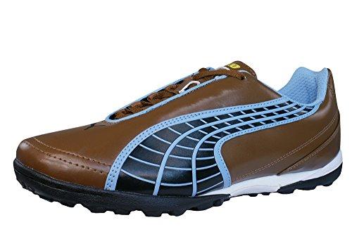 Puma V5.10 Big Cat TT Astro Turf Mens soccer sneakers Boots - brown-BROWN-10.5