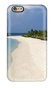 Kellie-Diy Iphone 6 case cover, Premium protective case cover With Awesome Look - Tranquil Lagoon za9T9ucZRwM Maldives Digital