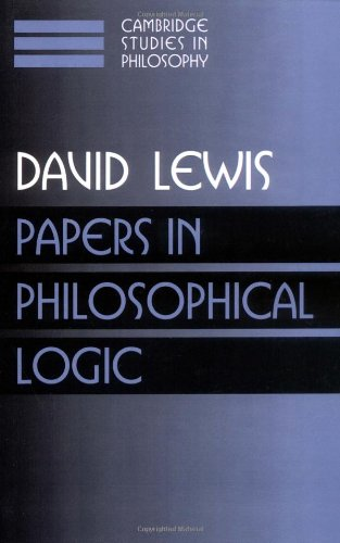 Best papers in philosophical logic for 2019