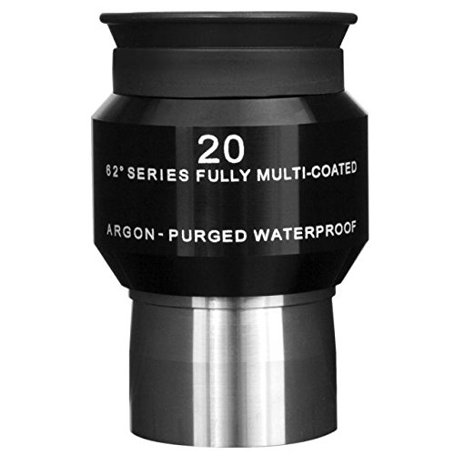 Explore Scientific 62 degree 20mm Long Eye Relief Waterproof