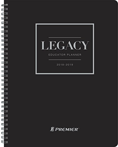Premier Legacy Planner Weekly Teacher Planner, August 2018 to 2019