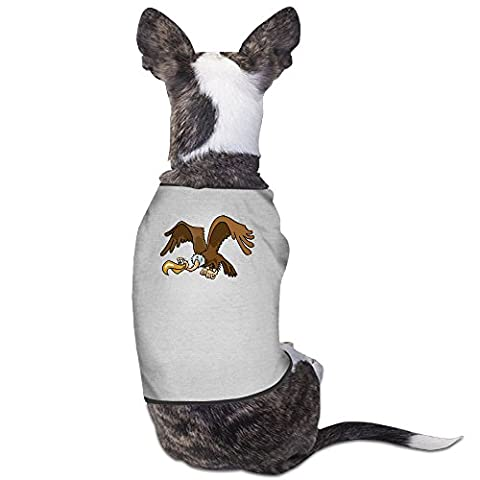 YRROWN Cartoon Vulture Dog Shirt