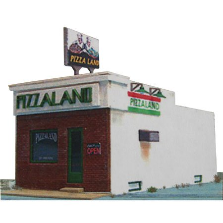 Blair Line HO Scale Kit Laser-Cut Pizzaland (Ho Blair Laser Line Cut)