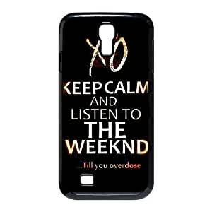 C-EUR Customized The Weeknd XO Pattern Protective Case Cover for Samsung Galaxy S4 I9500