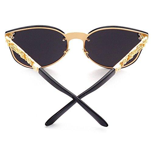 UV400 Gothiques soleil Lunettes 3 de hibote Femmes Color Lunettes Hommes gqpxR0