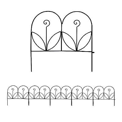 "MTB Supply Decorative Garden Border Fence Panel 18""x18""/24""x24""/32""x24"",Pack of 5"