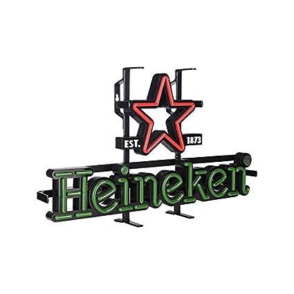 Letrero de bar vintage luminoso Heineken LED