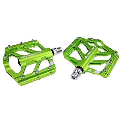 sweet dream Bike Pedals, Ultra Sealed Bearing Foot Pedal, Non-Slip Wide Comfortable Mountain Bike Pedal for Road Mountain BMX MTB Bike
