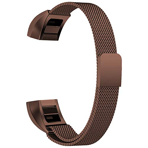 Oitom for Fitbit Alta HR Accessory Bands and for Fitbit alta Metal Band, Large 6.7