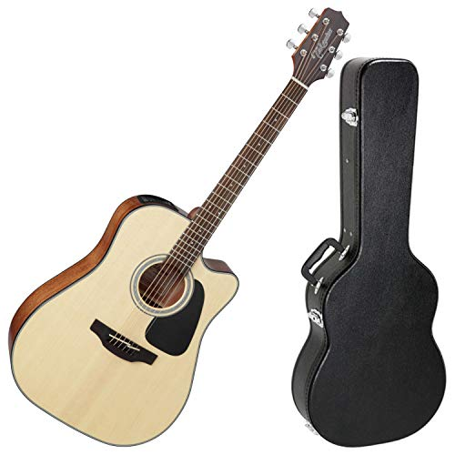Takamine G-Series GD30CE-NAT Dreadnought Cutaway Acoustic Electric Guitar with Hard Case