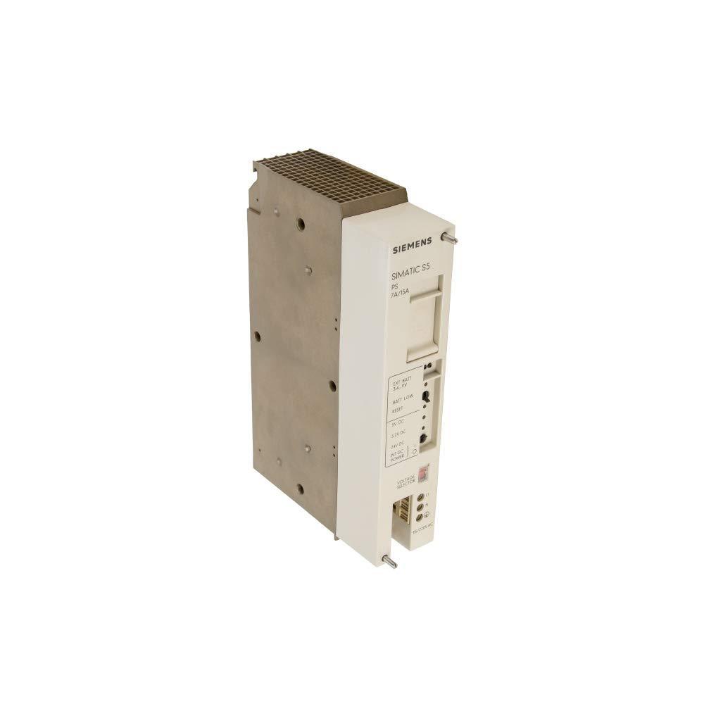 PS951 7//15A Siemens 6ES5951-7LD12 Power Supply Certified Refurbished