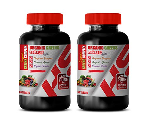 Immune System Vitamins for Women – Organic Greens Complex with Veggies, Greens, Fruits – Strawberry Extract Supplement…
