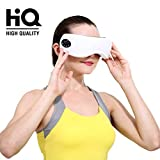 Eye Massager Machine - Electric Eyes Relax Therapy with Wireless Digital Heat Music Relief Rechargeable Vision Care Device