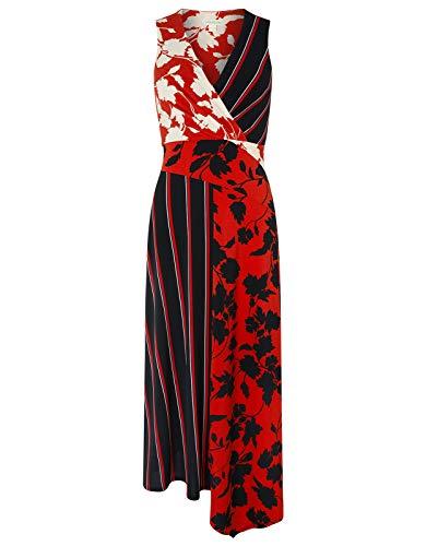 - Monsoon Penelope Print Maxi Dress Maxi Dresses Occasion Dresses - Womens - 8 Black