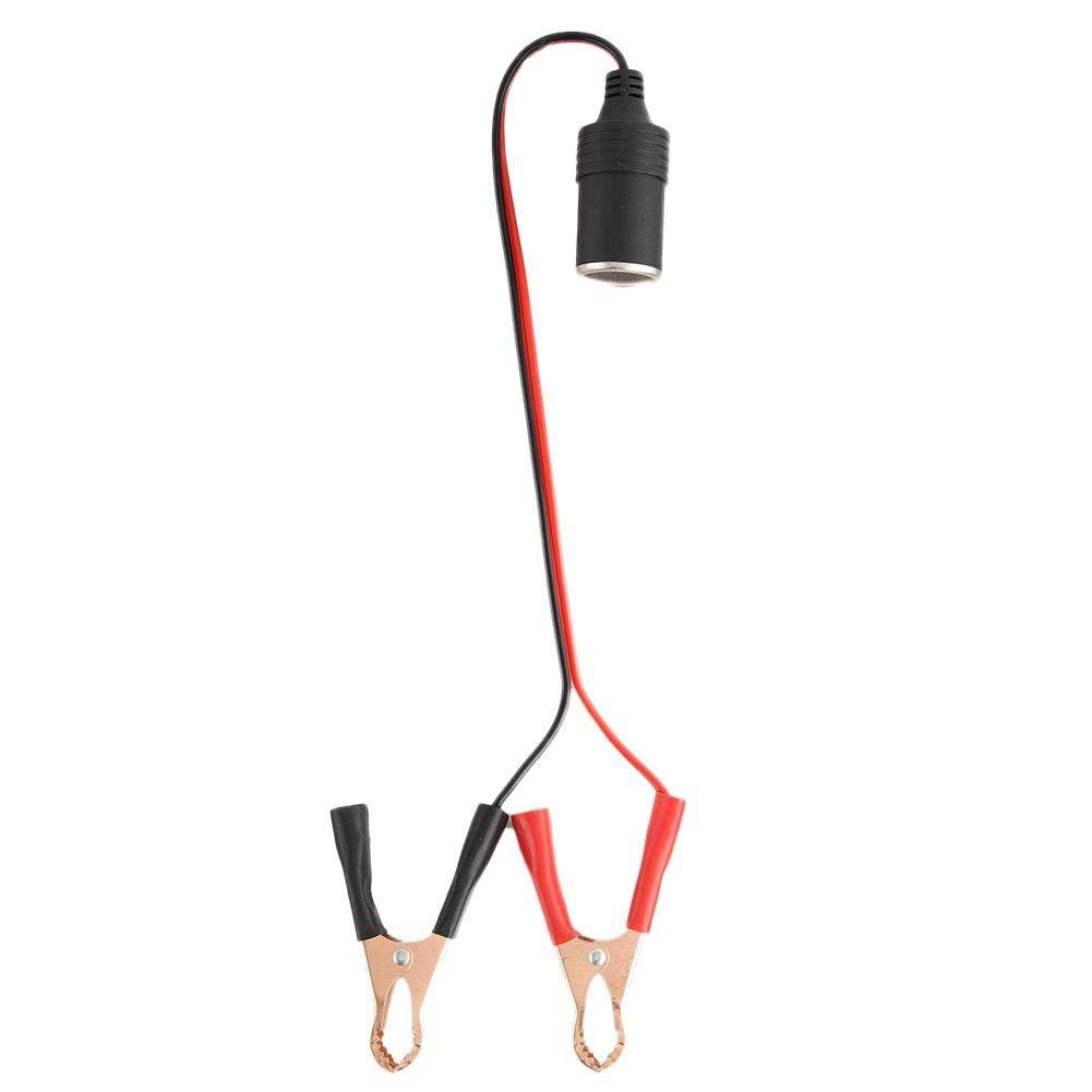 adattatore per presa accendisigari da auto a batteria Cavo di aggancio a coccodrillo Gorgeri Presa per accendisigari da agganciare