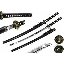 """Ryujin Fujiwara Series Nueùw 41"""" Hand Forged Katana Samurai Sword Sharp 1045 Carbon Steel Shinogi Zukuri Blade w/ Bo-Hi"""