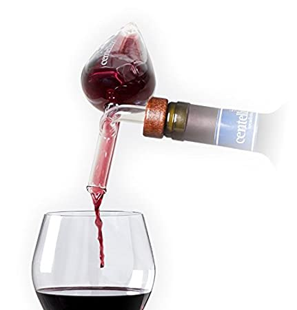 Centellino Areadivino Wine Aerator and Decanter For Brandy and Whiskey 35 ml.