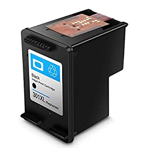 Cartucho de Tinta regenerado HP 301 HP301 XL Cartuchos de Tinta de Alto Rendimiento (1 Negro)